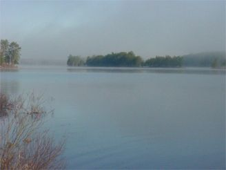 Somo Lake in Mist